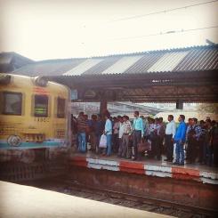 The lifelines of Bombay-Locals.