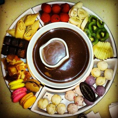 Chocolate Fondu.