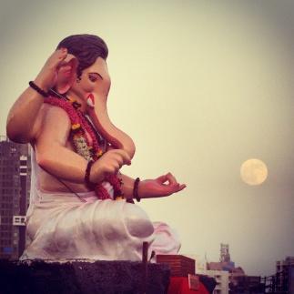 The essence of Mumbai-Ganeshotsav.