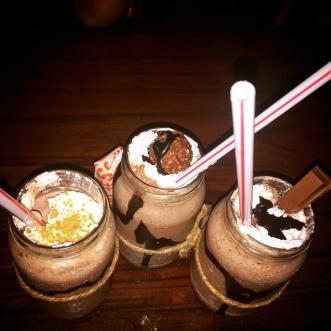 Milkshakes @colaba social