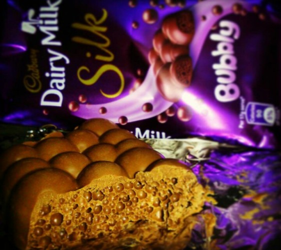 When this was a FAD once upon a time- Dairy milk silk bubbly.
