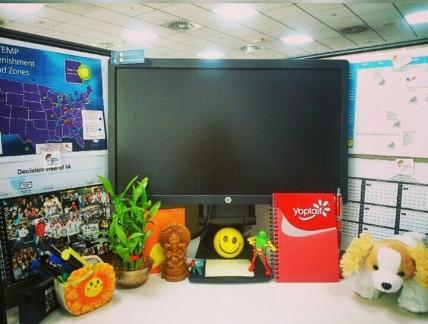 My happy desk.