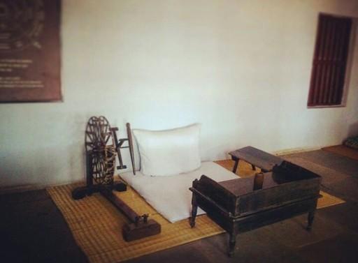 Where HE stayed @Sabarmati Ashram, Ahmedabad