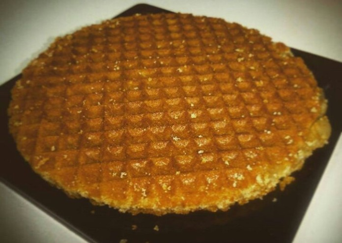 Waffle from Spain!!