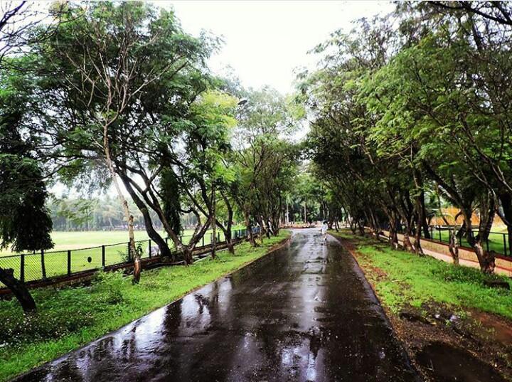 Those wet lanes @Nagothane