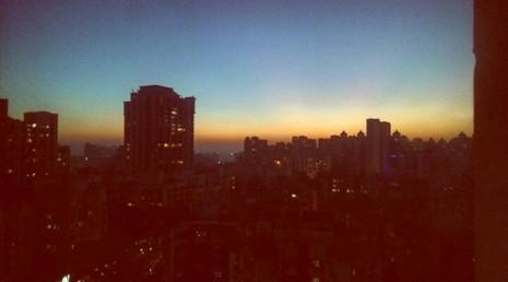Evening Skies @Hiranandani, Powai