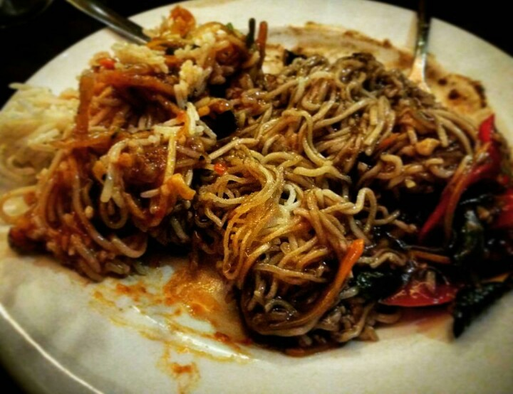 Some variety of noodles @5 Spice Bandra