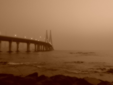Some effect from Nikon P530 @Bandra Fort