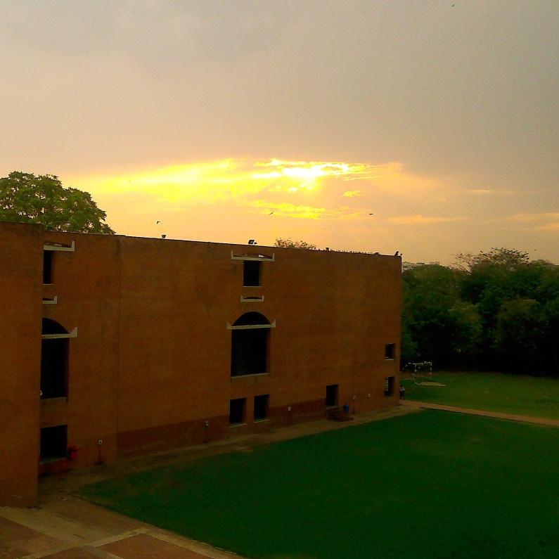 Sunset @IIM-A..