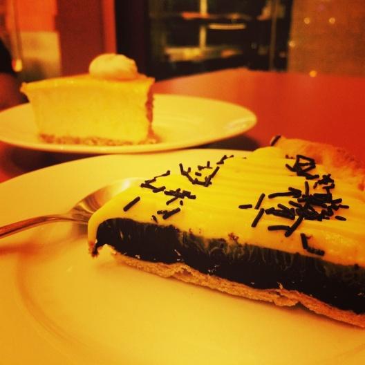 Cheese cake @Indulgence, Ahmedabad.