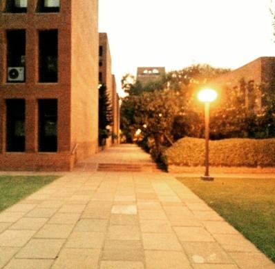 Lighted up @IIM-A, Ahmedabad