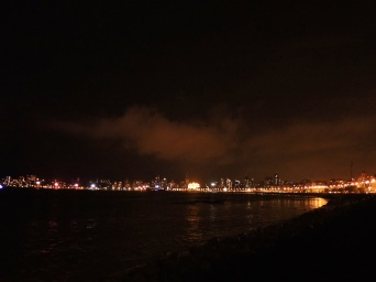 City lights @Marine Drive