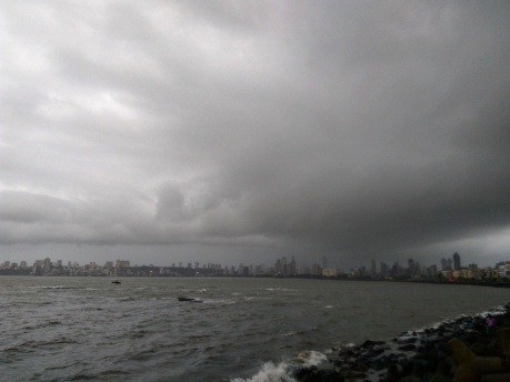 Just about to Burst @Marine Drive