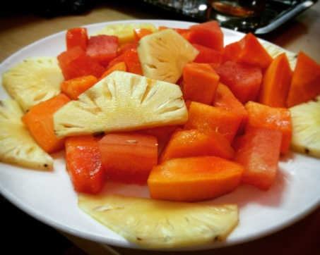 Fruit Plate be the best @Office, Powai