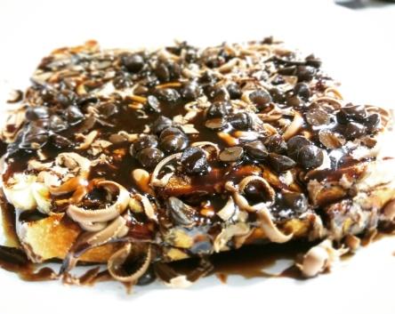 Chocolate grilled Sandwich @Pure milk center, Ghatkopar