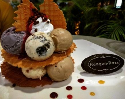 Ice cream cravings @Haagen Daaz, Powai
