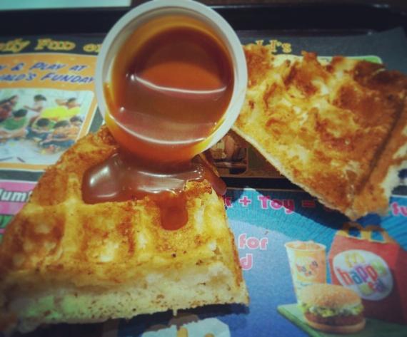 Caramel Waffle @MacD, Sakinaka
