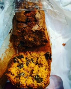 Raisin blueberry plum cake @Kayani Bakery