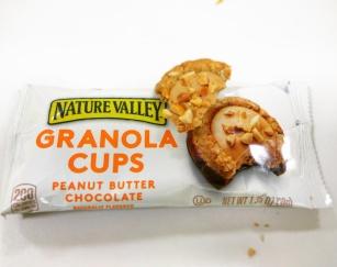 Peanut butter granola cups @Hiranandani