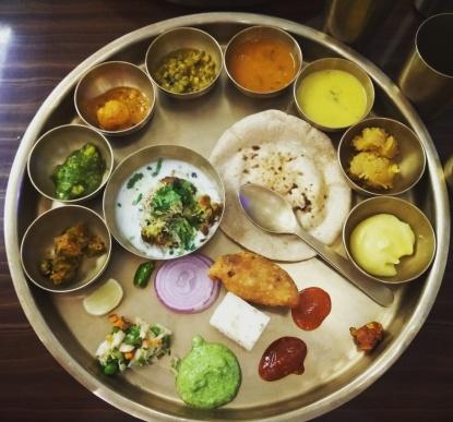 Amazing thali @Maharaja bhog