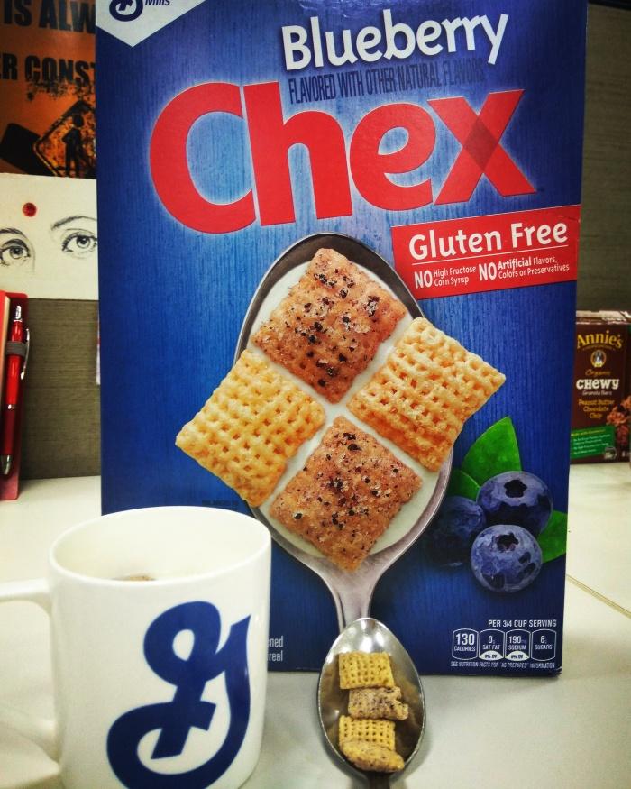 Blueberry Chex Cereals for Breakfast @Hiranandani