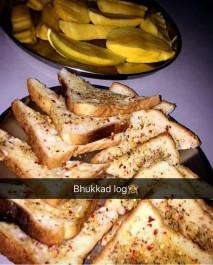 Garlic bread @Andheri East