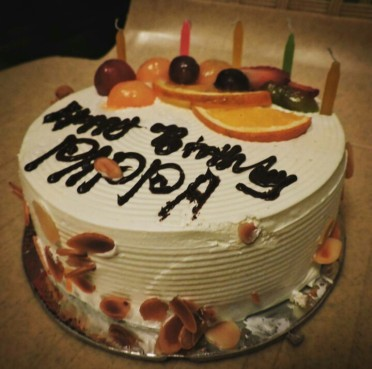 It was a cute cake @Bangalore
