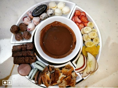Chocolate Fondue @Haagen Daaz, Powai