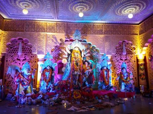 Durga pujo pandal, Bharuch