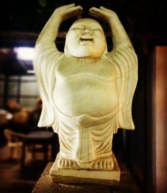 Laughing Buddha @Kinara dhaba