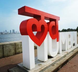 I love Mumbai @Bandra reclamation