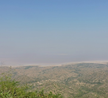 When far far you can see the India Pakistan Border @Kutch