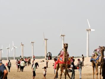 The windmills @Mandvi Beach