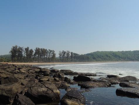 Beautiful beach @Velneshwar